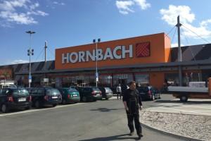 Osvětlení nákupního střediska – Hornbach, Praha – Chuchle