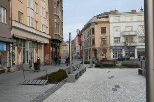 Osvětlení náměstí v Prostějově