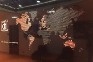 Osvětlení kanceláří DT Prostějov