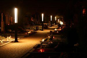 Osvětlení hřbitova Vyškov