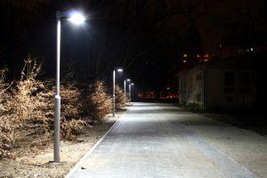 Veřejné osvětlení – Kolářovy sady, Prostějov