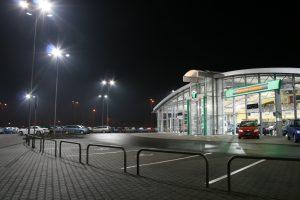 Venkovní osvětlení Porsche, Olomouc