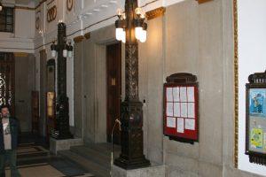 osvětlení radnice Prostějov