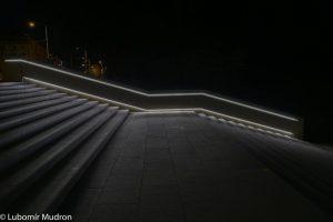 osvětlení parku pardubice